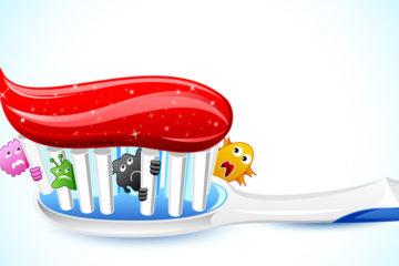 Bàn chải đánh răng nỗi kinh hoàng vi khuẩn