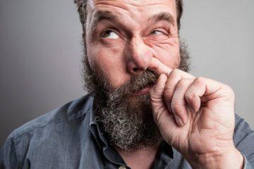 tác hại của ngoáy mũi