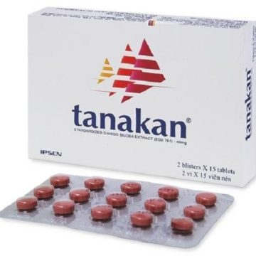 Hộp thuốc Tanakan