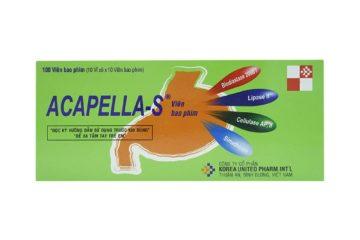 ACAPELLA - A -Thuốc chữa rối loạn tiêu hóa - Benh vn