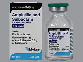 ampicillin và sulbactam