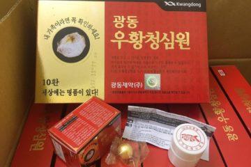 Thực phẩm chức năng An cung ngưu hoàng hoàn chứa lượng độc tố cao