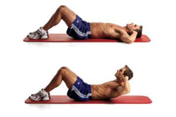 Giúp phái mạnh có cơ bụng 6 múi từ những động tác đơn giản