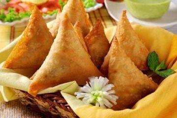 Thưởng thức ẩm thực Ấn Độ với món bánh Samousa thơm ngon
