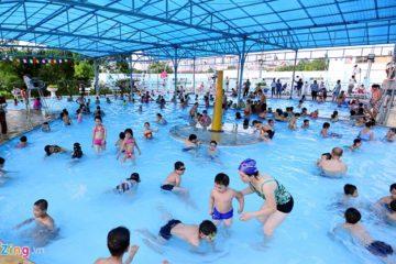 Thực trạng chất lượng nước bể bơi ở Hà Nội