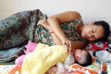 Thai nhi ngưng thở trong bụng mẹ được cứu sống