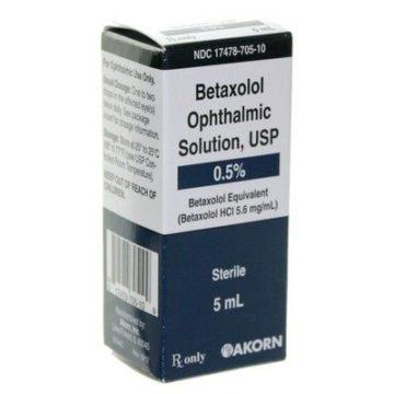 thuốc betaxolol
