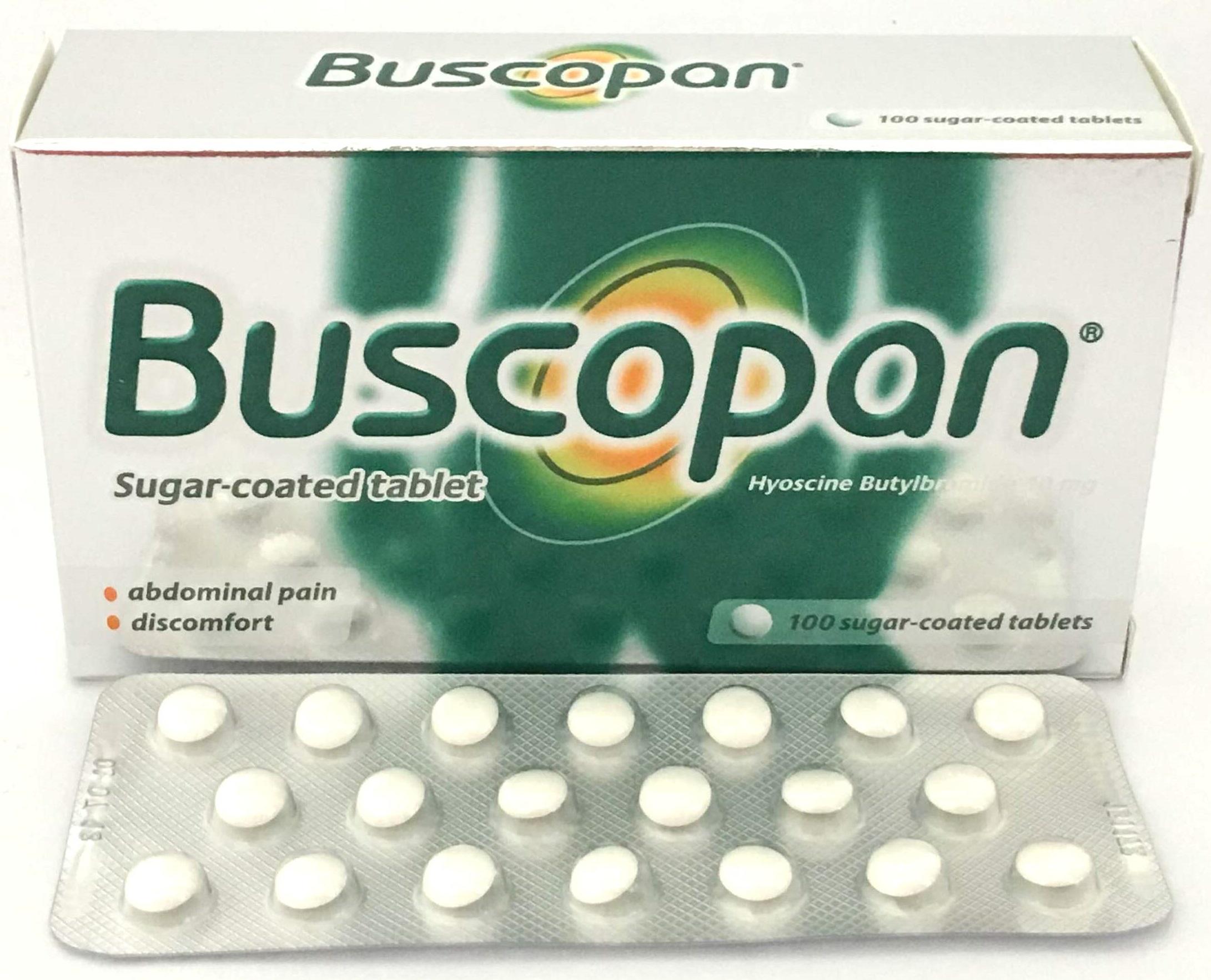 Thuốc Buscopan
