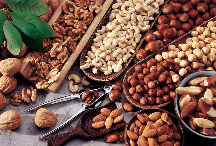 Các loại hạt bổ dưỡng