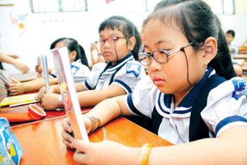 Phòng ngừa cận thị ở tuổi học đường