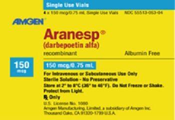 Cảnh báo: Thuốc Darbepoetin alfa trị thiếu máu gây hoại tử thượng bì, nhiễm độc