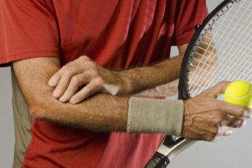 Chấn thương khuỷu tay ở người chơi tennis và cách điều trị