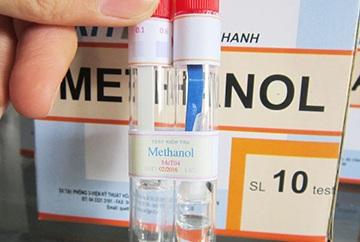 xét nghiệm methanol