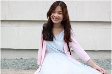 nghị lực của cô gái mất 1 tay vì ung thư xương