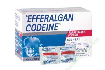 Không sử dụng codein ở trẻ dưới 18 tuổi vừa được thực hiện cắt amiđan