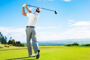Đề phòng chấn thương đầu gối khi chơi golf