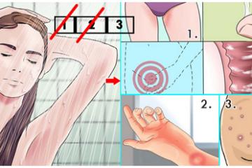 Điều gì sẽ xảy ra với cơ thể nếu 2 ngày không tắm?