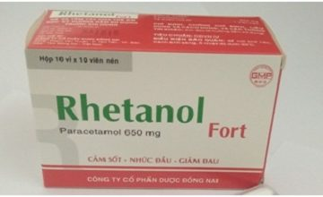 Đình chỉ lưu hành thuốc hạ sốt Rhetanol Fort và kháng sinh Cefpodoxime tại Hà Nội