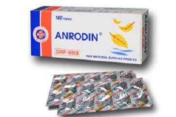 Đình chỉ thuốc trị ho Anrodin do không đảm bảo chất lượng