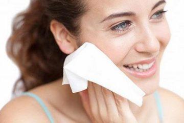 dùng khăn giấy ướt không đúng cách