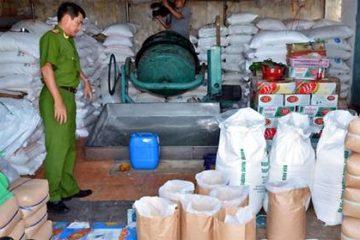 Xử phạt nặng cơ sở chế biến đường sử dụng hóa chất công nghiệp