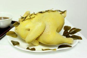 Cách làm gà hấp muối thơm ngon khó cưỡng