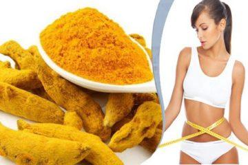 Dùng bột nghệ làm sao để giảm cân nặng, mỡ thừa lại thêm da sáng đẹp