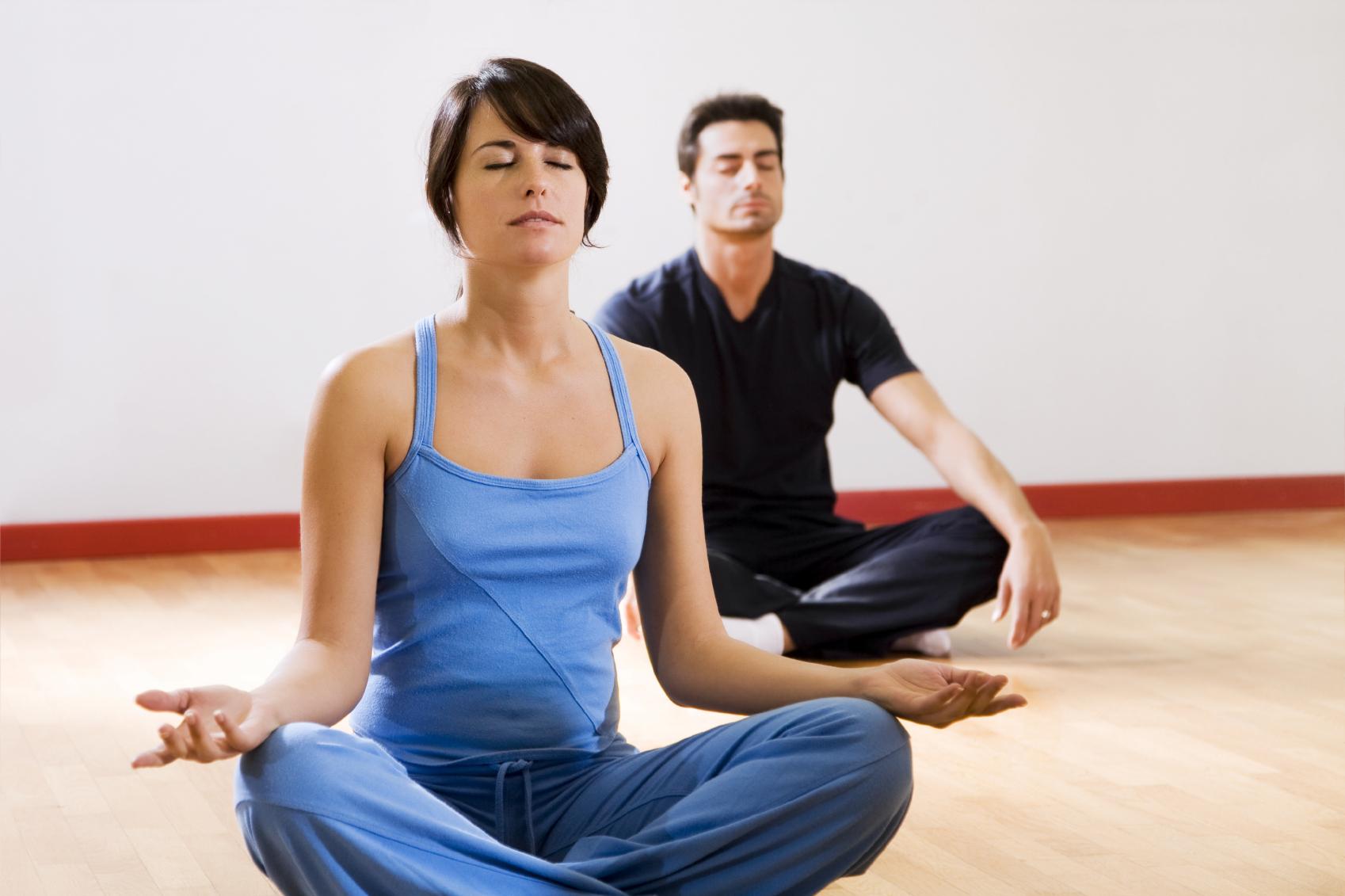 Hít thở khi tập yoga