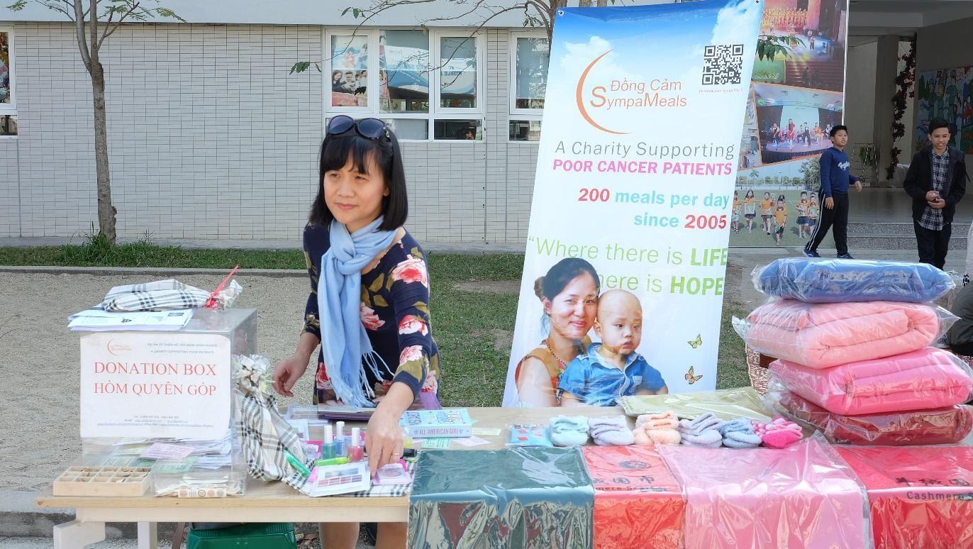 Hoạt động gây quỹ cho Dự án Đồng SympaMeals