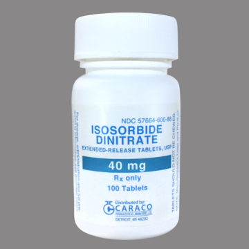 thuốc isosorbide