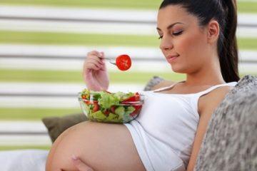 Khuyến cáo chế độ dinh dưỡng khi mang thai