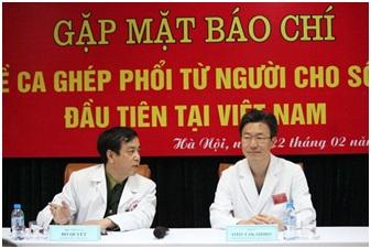 Lần đầu tiên Việt Nam ghép phổi thành công cho bệnh nhi 7 tuổi