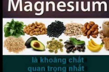 Tác dụng đặc biệt của khoáng chất Magiê đối với sức khỏe