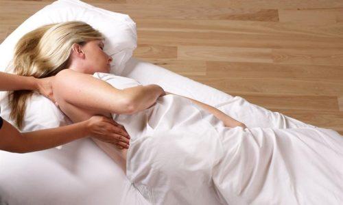 massage cho bà bầu