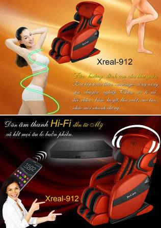 Ghế massage Xreal 912 Dr care