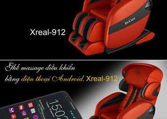 Trải nghiệm Ghế massage Xreal 912 Dr care