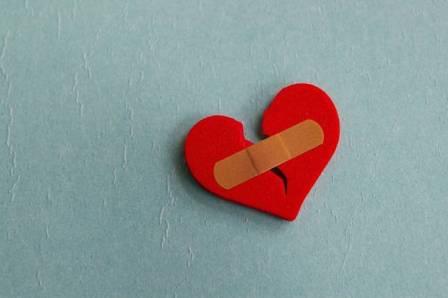trái tim tan vỡ