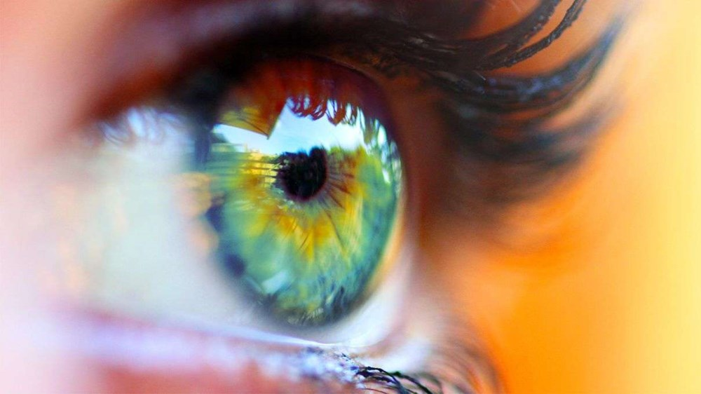 mắt người bình thường