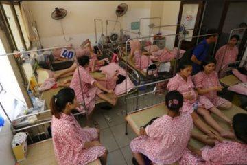 Mất nước bệnh viện Phụ sản chỉ mổ cấp cứu