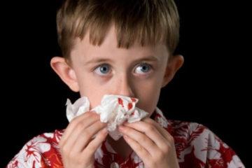 Nguyên nhân trẻ bị chảy máu mũi và phương án xử trí