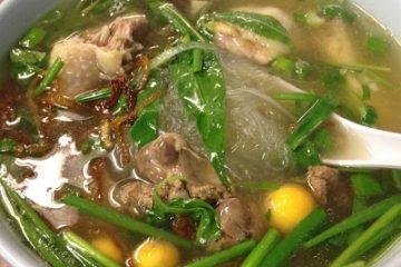 Món miến nấu lòng mề gà thơm ngon, hấp dẫn đổi vị cho cả gia đình