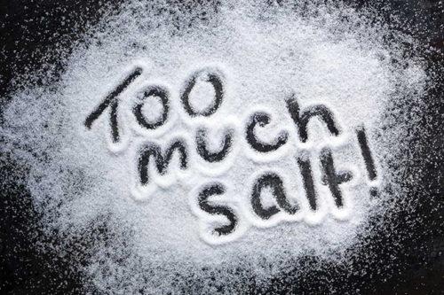 Hạn chế ăn nhiều muối