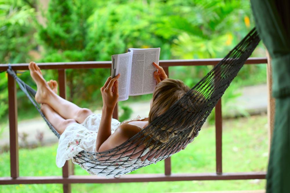 Thư giãn đọc sách