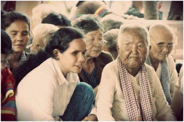 Viêm loét giác mạc là nguyên nhân gây mù lòa của người dân Vĩnh Châu