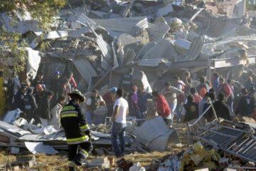 Nổ khí gas tại Mexico thổi bay bệnh viện, 62 người thương vong