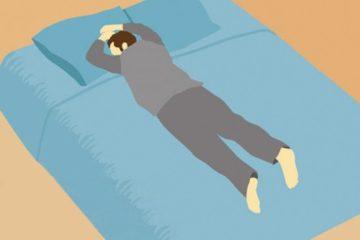 6 tư thế ngủ thể hiện tính cách và sức khỏe