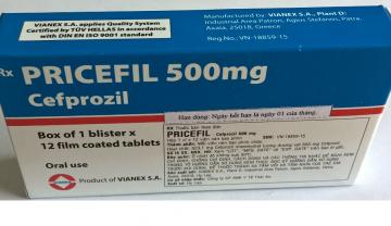 Thuốc Primocef đã bị rút hai số đăng ký