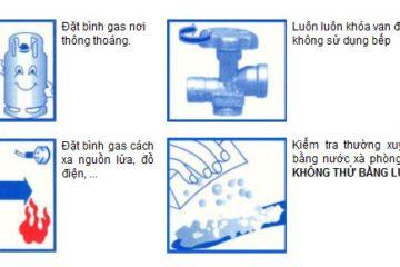 Những lưu ý để sử dụng bếp gas an toàn chống cháy nổ