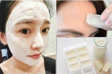 Sử dụng sữa tươi làm mặt nạ chăm sóc da