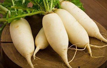 Tác dụng không ngờ của củ cải trắng